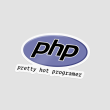 استیکر PHP pretty hot programer
